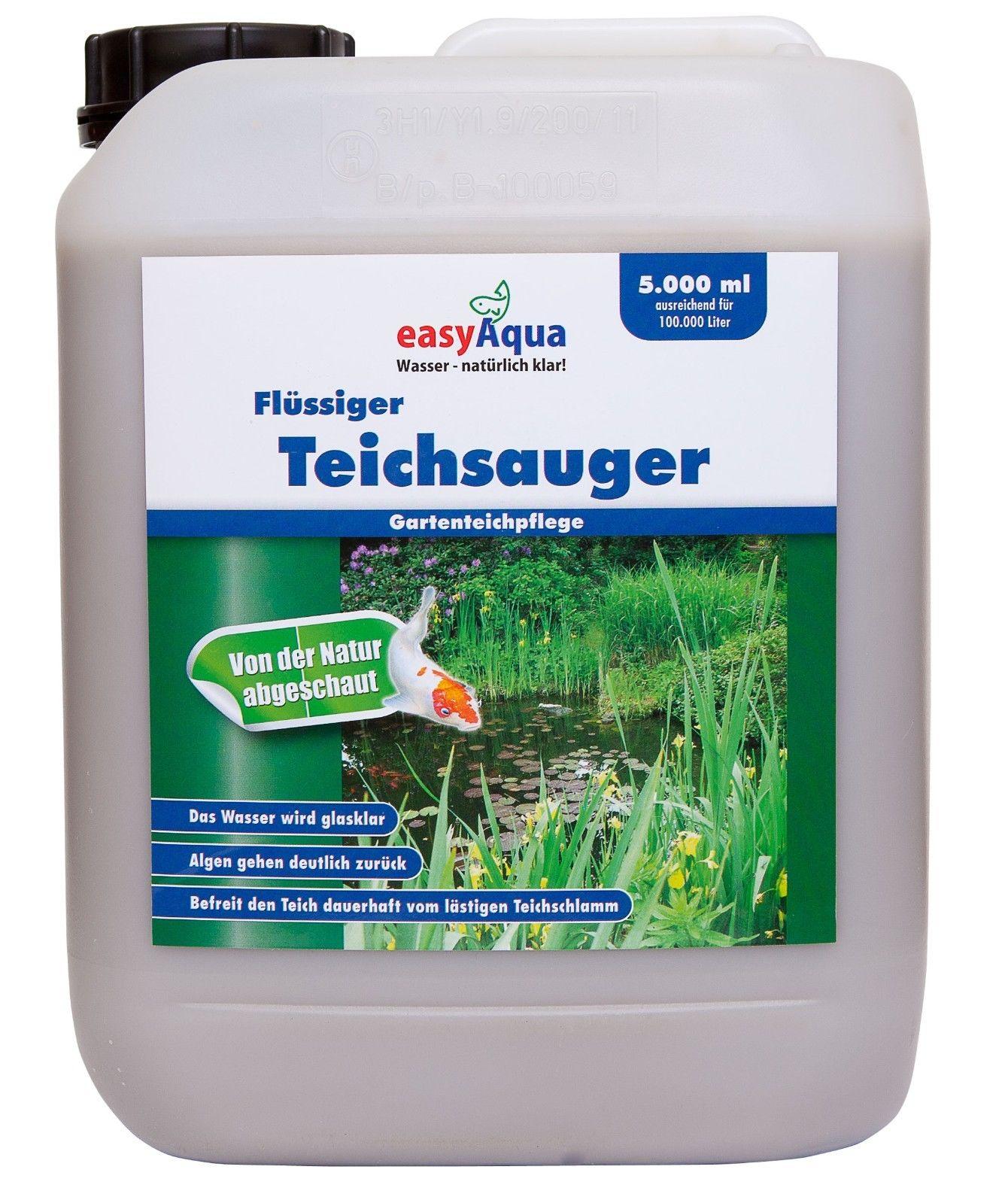 5 Liter Flüssiger Teichauger